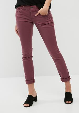 G-Star RAW Lynn Mid Skinny Jeans Purple