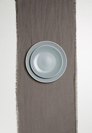 Sixth Floor Linen Table Runner Dining & Napery 100% Linen