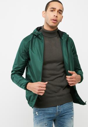 Basicthread Windbreaker Jackets Green