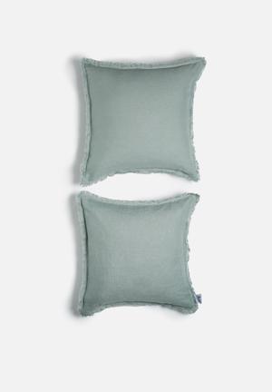 Sixth Floor Linen Cushion Cover Set 100% Linen
