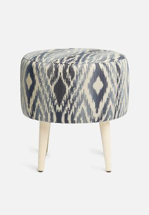 Sixth Floor Athena Ottoman Chairs & Stools 100% Polyester