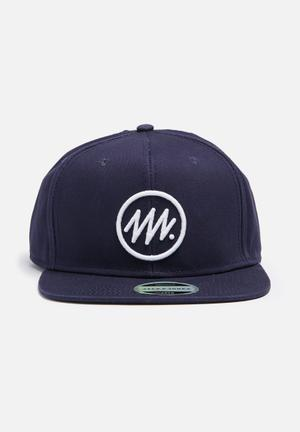 Circle snapback cap