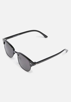 Only & Sons Clubmaster Sunglasses Eyewear Black