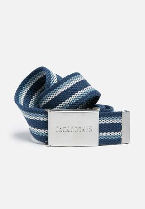 Jack & Jones Summer Stripe Belt Blue