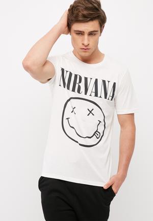 Nirvana slim tee