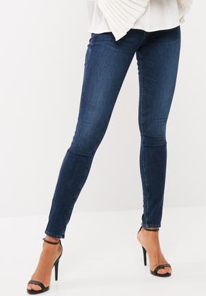 G-Star RAW Lynn Mid Skinny Jeans Blue