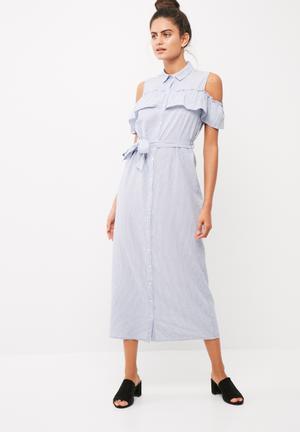 Dianna cut-out shirt dress