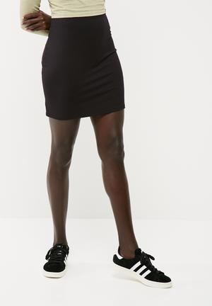 Missguided Jersey Mini Skirt Black