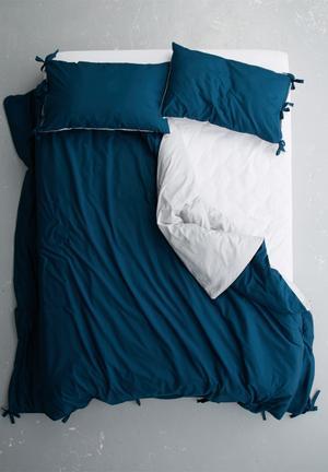 Sixth Floor Ties Duvet Set Bedding 100% Cotton