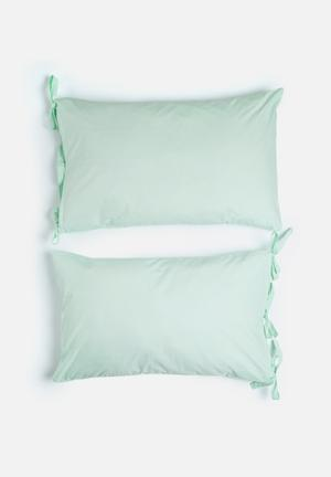 Ties pillowcase set