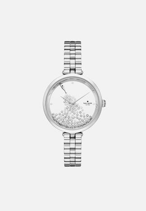 Kate Spade New York Holland Watches Silver