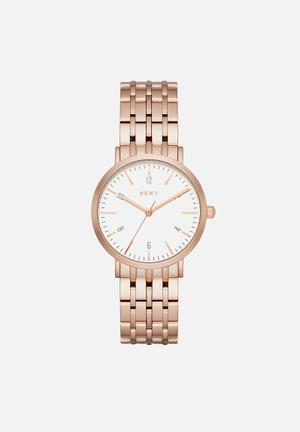 DKNY Minetta Watches Rose Gold