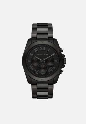 Michael Kors Brecken Watches Black