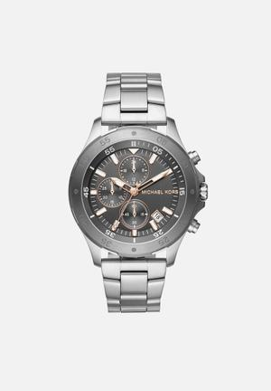Michael Kors Walsh Watches Silver