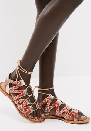 Maya leather sandal