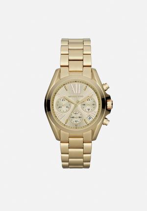 Michael Kors Bradshaw Mini Watches Gold