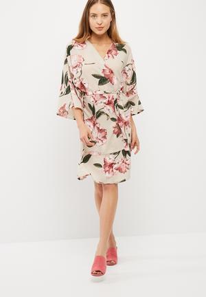 Sassy kimono dress