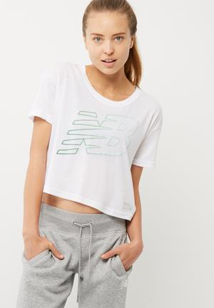 Athlectics cropped tee