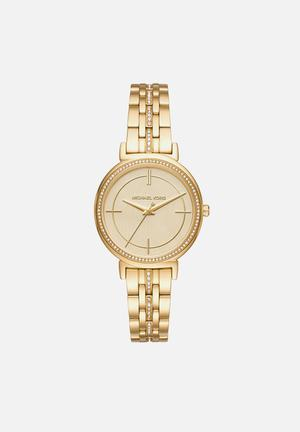 Michael Kors Cinthia Watches Gold