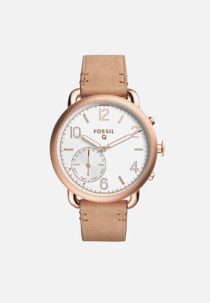 Fossil Q Tailor Watches Ligth Brown