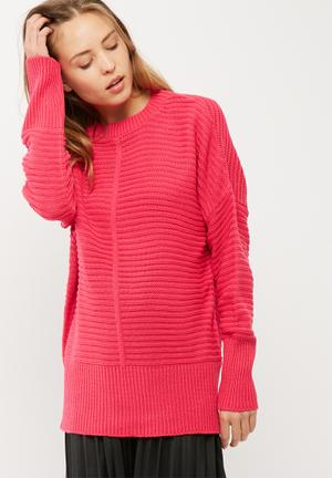 Ribbed slouchy knit