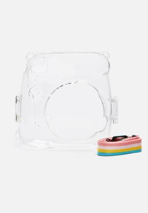 Tuff Luv Instax Mini Case Cameras & Accessories Toughened Clear Plastic