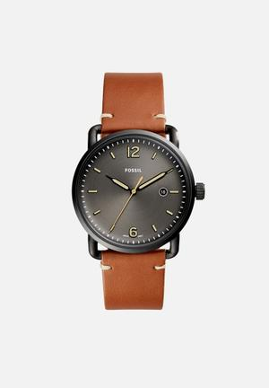 Fossil Commuter Watches Gunmetal