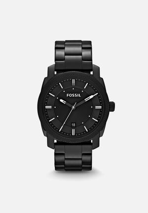 Fossil Machine Mid Watches Gunmetal