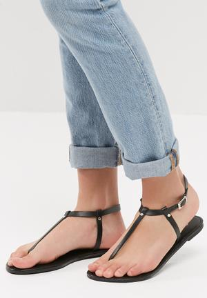 T-Bar leather sandal