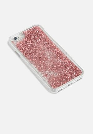 Levitech IPhone Glitter Waterfall Case TPU & Polycarbonate