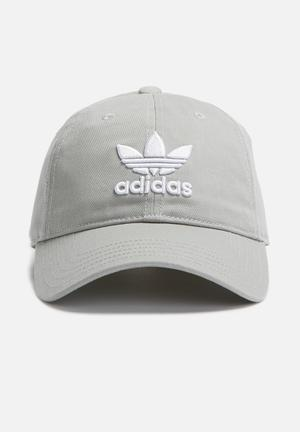 Adidas Originals Trefoil Cap Headwear Grey
