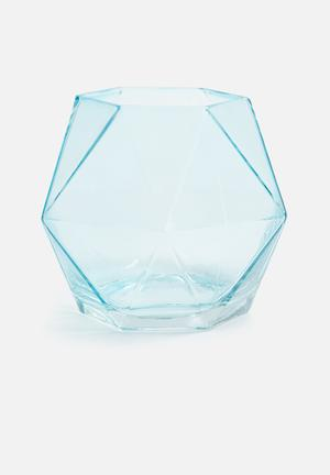 Sixth Floor Geo Vase Accessories Glass