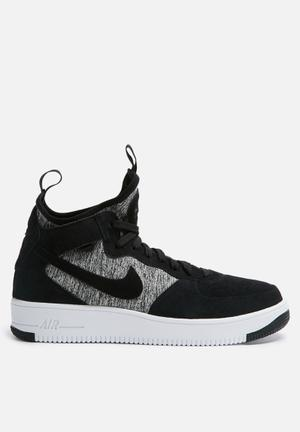 Nike Air Force 1 Sneakers Black/Black-White