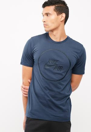 Nike Air Logo Tee T-Shirts Navy
