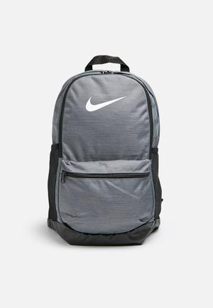 Nike Classic Backpack Bags & Wallets Grey & Black