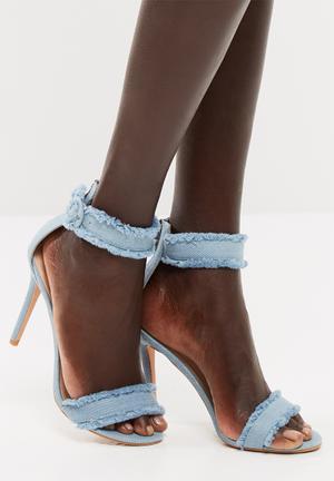 Public Desire Effy Heels Blue