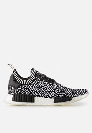 Adidas Originals NMD_R1 Primeknit Sneakers Core Black / White