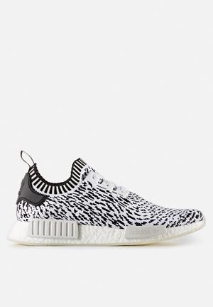 Adidas Originals NMD_R1 Primeknit Sneakers Ftw White / Core Black