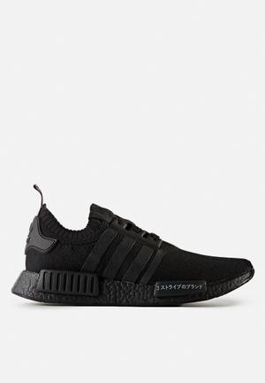 Adidas Originals NMD_R1 Primeknit Sneakers Triple Black 'Japan Pack'