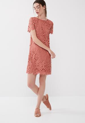 ONLY Sigris Dress Occasion Dusty Brick