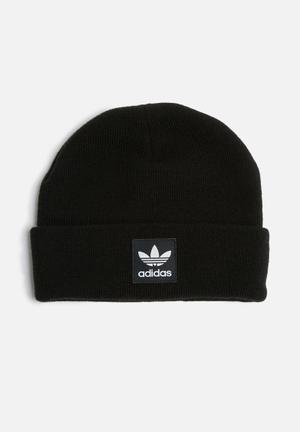 Adidas Originals Logo Beanie Headwear Black