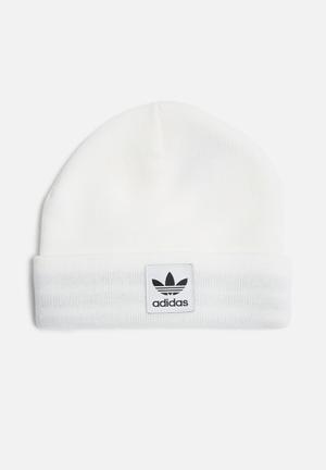Adidas Originals Logo Beanie Headwear White
