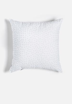 Summer rain printed cushion