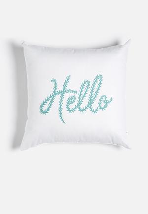 Sixth Floor Hello Summer Printed Cushion Cotton Twill