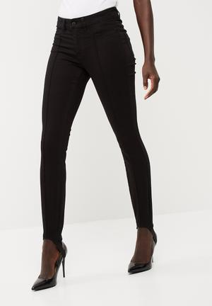 Vero Moda Seven Stirrup Jeggings Jeans Black