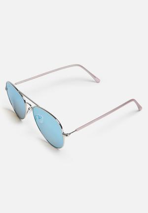 Missguided Aviator Sunglasses Eyewear Metal