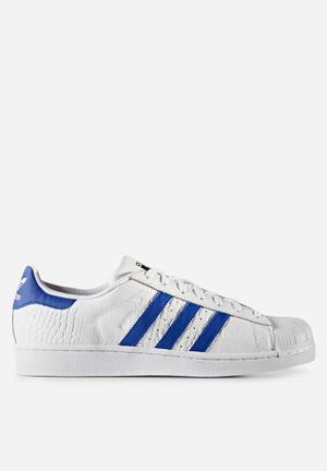 Adidas Originals Superstar Sneakers White / Bold Blue / Animal