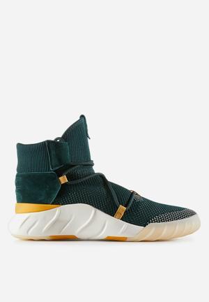 Adidas Originals TUBULAR X 2.0 PK Sneakers Green Night / Tactile Yellow