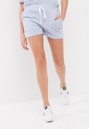 Dailyfriday Jamie Shorts Bottoms Soft Blue