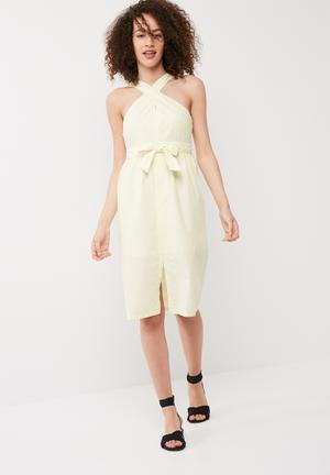 Vero Moda Cutta Dress Casual Yellow